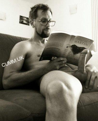 Wanking and Reading