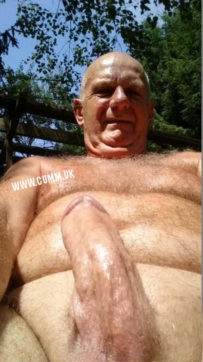 mature silver daddy thick cock