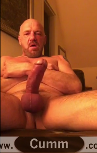 Daddy Bear's Dancing Cock Wank Technique