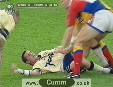 Rugby Cock Exposed