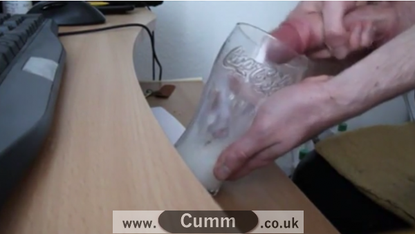 A Glass of Semen