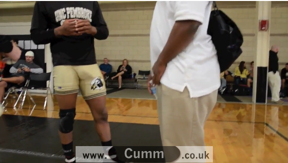 Awkward Bonner at the Wrestling Club