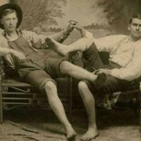 male intimacy 1890's