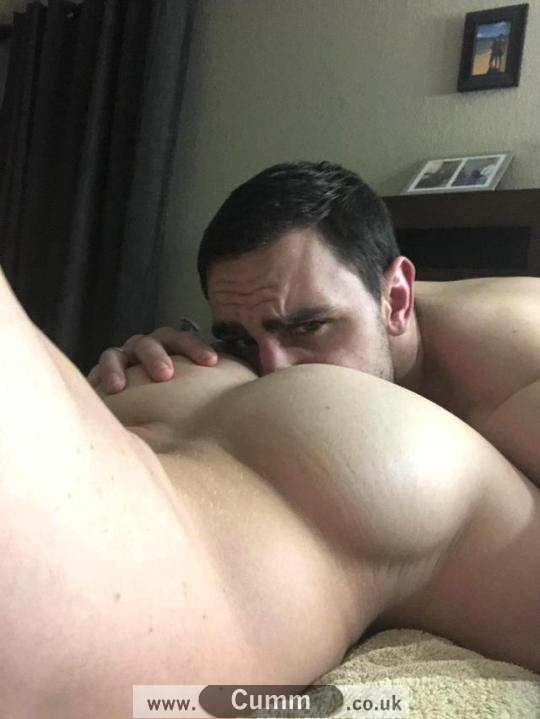 straight man gets his arse rimmed bi gay
