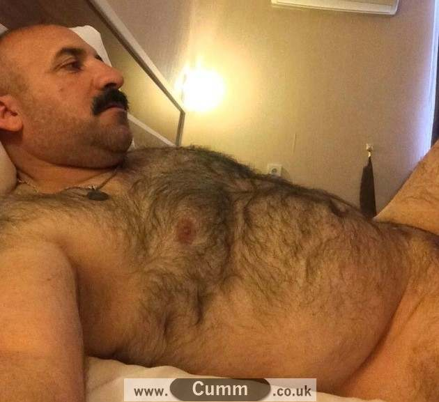 hairy chest nude turkish daddy