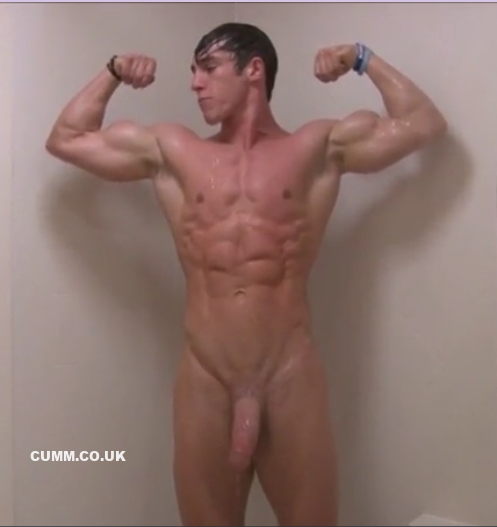 Some Nude Male Bodybuilding Poses