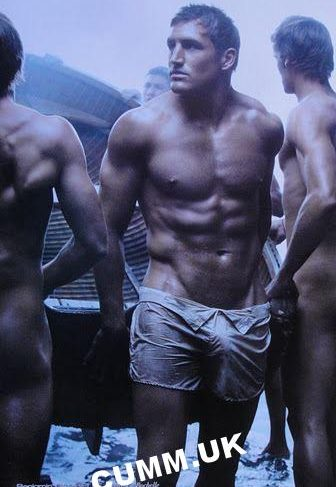 french rugby player undressed to shorts big cock visable